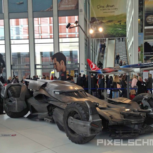 Turkish Airlines Batmobil ITB Berlin