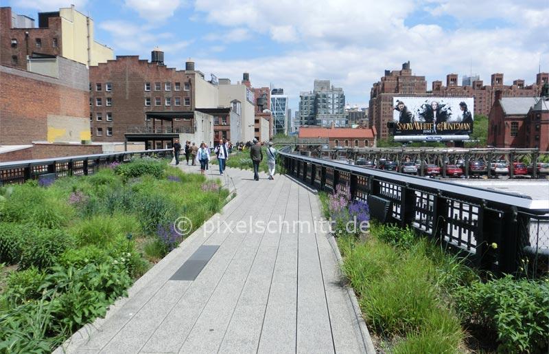 New York Sehenswürdigkeiten. High Line Park