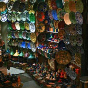 lackierte-teller-marrakesch