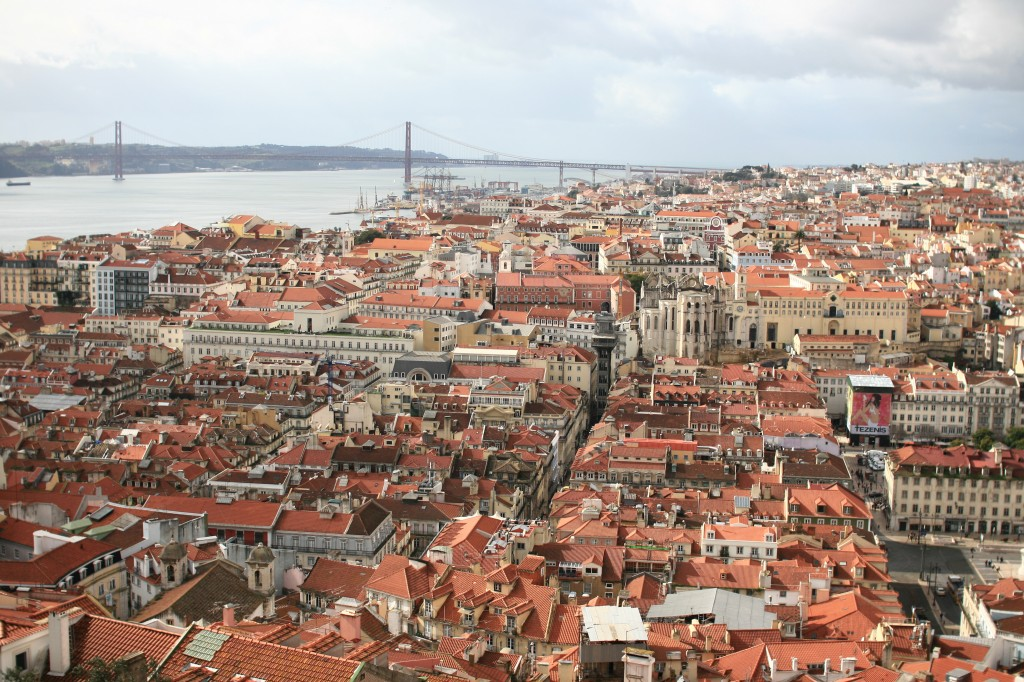 Blick über Lissabon - Panorama