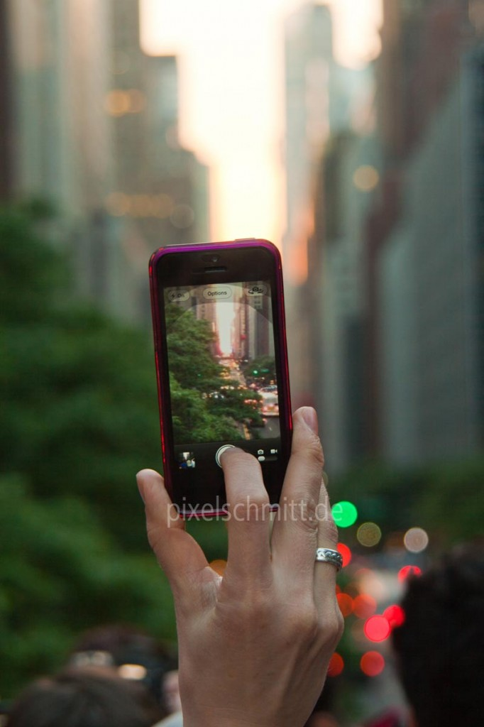 New York kostenlos: Manhattanhenge
