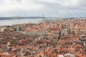 Lissabon im Januar