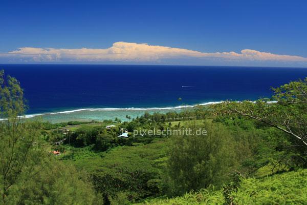 Rarotonga Aerial View