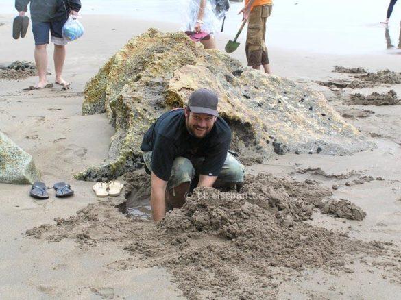 pixelschmitt am Hot Water Beach