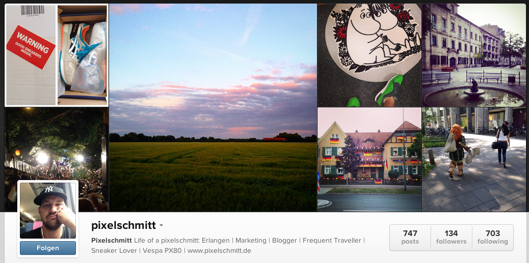 Top 10 meiner Instagram-Bilder 2014 (Januar – Juni)