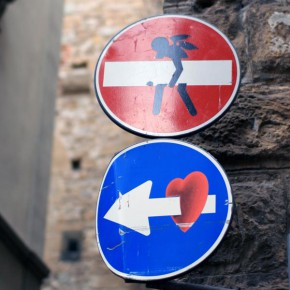 street art florenz verkehrsschild 03