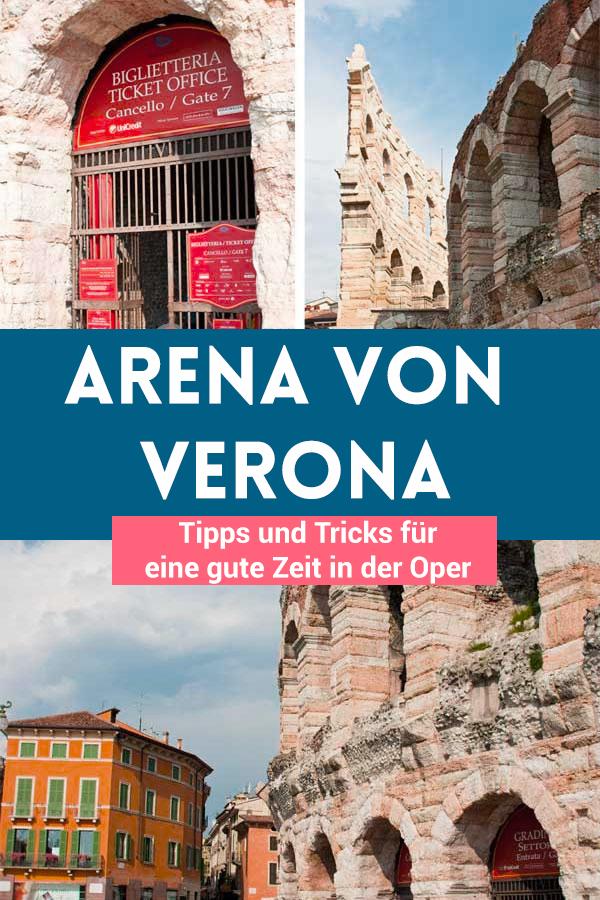 Wichtige Tipps für Deinen Besuch in der Arena von Verona: Wo sind die besten Plätze? Was kosten die Tickets und wo kannst Du sie kaufen?