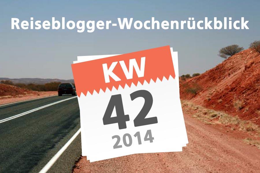Der Reiseblogger Wochenrückblick KW 42