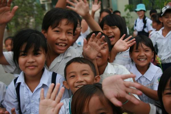 Direkt erleben, was mit unserer Spende geschieht: Ein Besuch bei World Vision in Saigon.