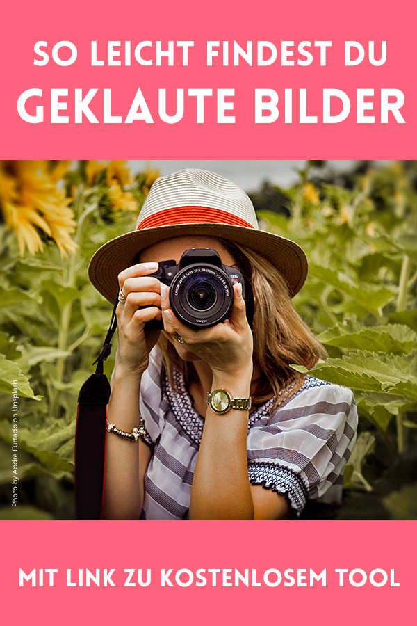 Geklaute Bilder im Internet finden. So geht´s! Mit dieser Anleitung kannst Du ganz einfach gestohlene Bilder im Internet finden.