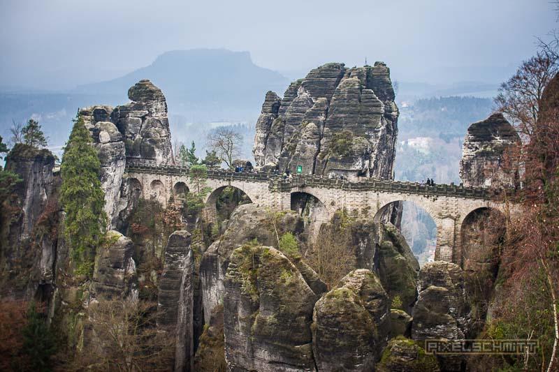 Städtetrip Dresden: Mit dem Zug zur Basteibrücke