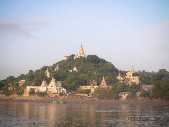 Auf dem Weg nach Bagan - Sagaing