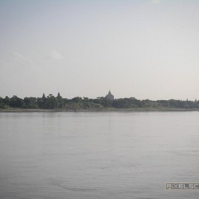 Der erste Blick auf Bagan