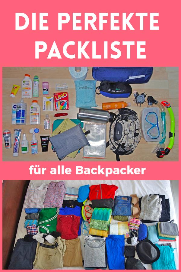 Die perfekte Packliste: 4 Wochen Sri Lanka, 2 Personen, 1 Rucksack = 14,9 Kilo