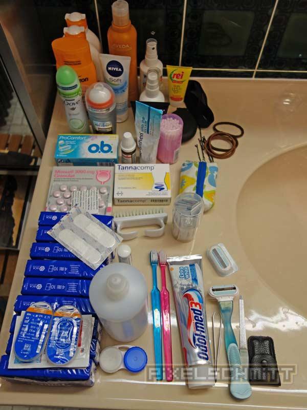 Packliste Sri Lanka: Medikamente dürfen nicht fehlen