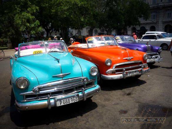 Oldtimer in Kuba: Ein Grund für eine Reise nach Kuba
