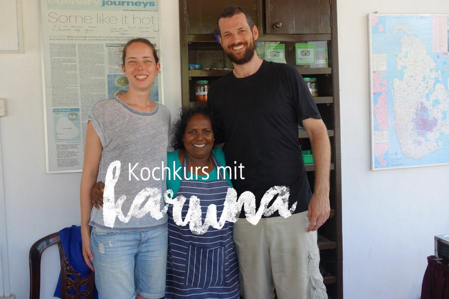 Kochkurs Sri Lanka bei Katunas Cooking Class in Unawatuna