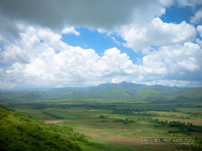 Landschaft rund um Trinidad in Kuba