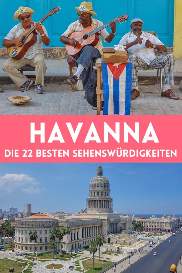 Die 22 besten Sehenswürdigkeiten in Havanna