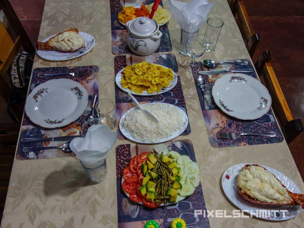 Vinales Kuba Casa Particular Essen