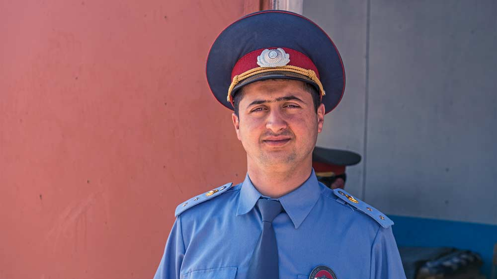 Polizei und Militär kontrollieren uns - Foto: www.kilianreil.com