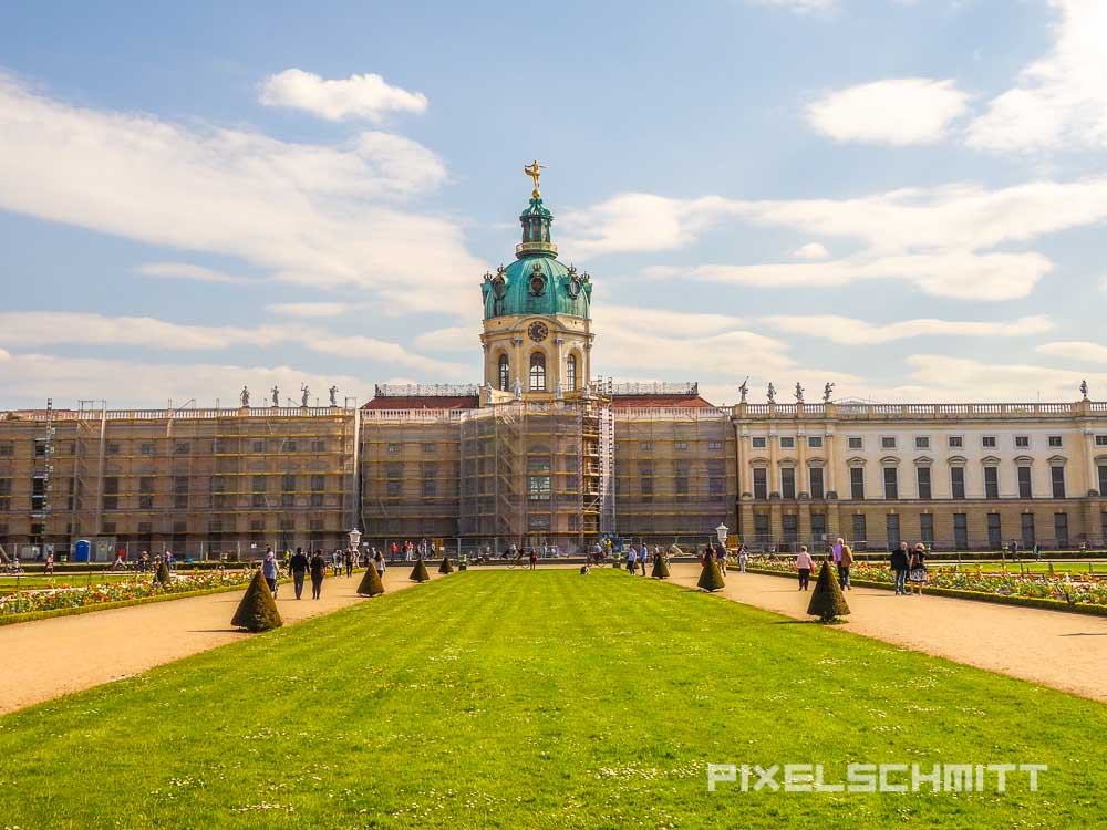 Schloss Charlottenburg - Verlängertes Wochenende in Berlin