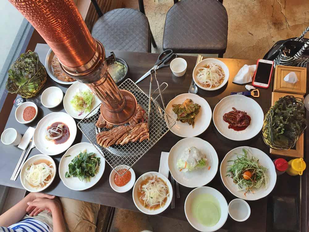 Südkorea Korean BBQ