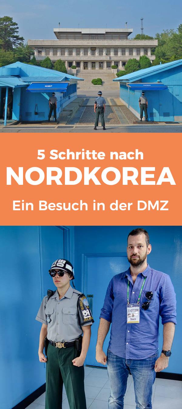 5 Schritte nach Nordkorea - Ein Besuch in der DMZ