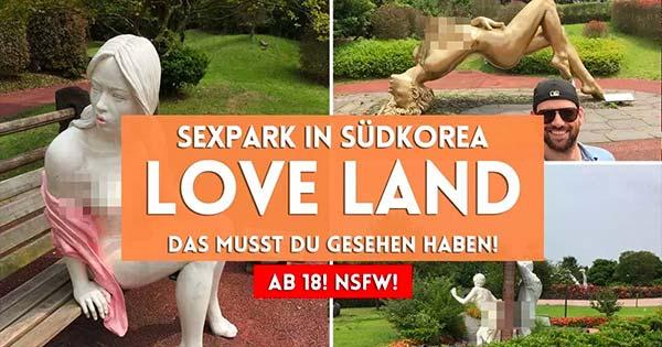 Urlaub in Südkorea - Jeju Love Land