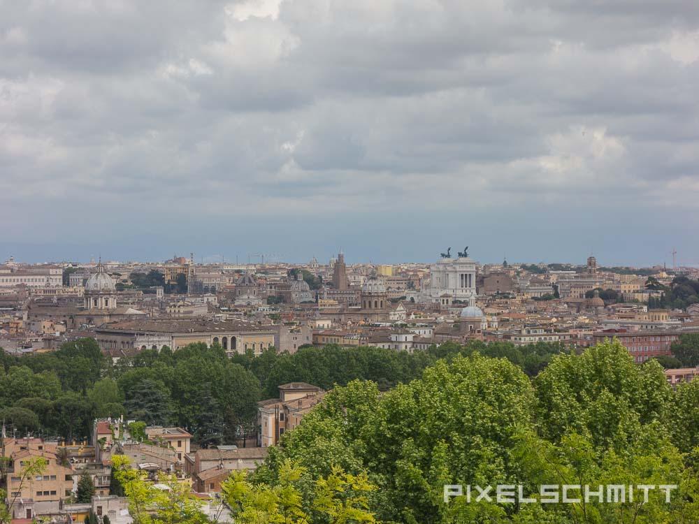 Sehenswürdigkeit in Rom: Gianicolo