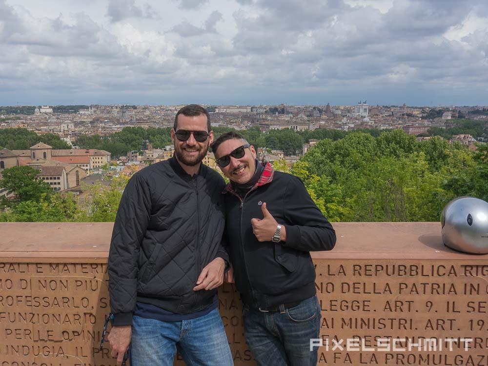 Sehenswürdigkeiten in Rom: Vespatour