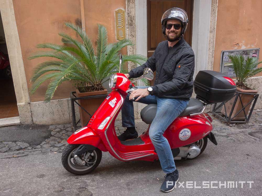 Sehenswürdigkeiten in Rom per Vespa