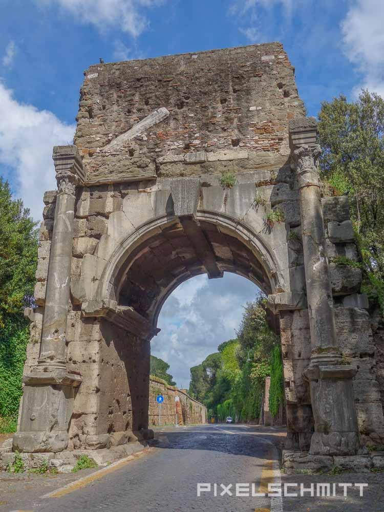 Sehenswürdigkeiten in Rom: Via Appia