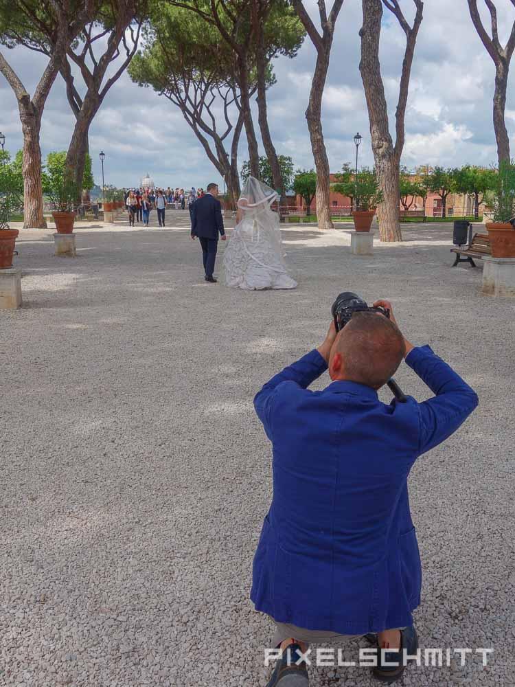 Sehenswürdigkeit in Rom: Orangengarten auf dem Aventin