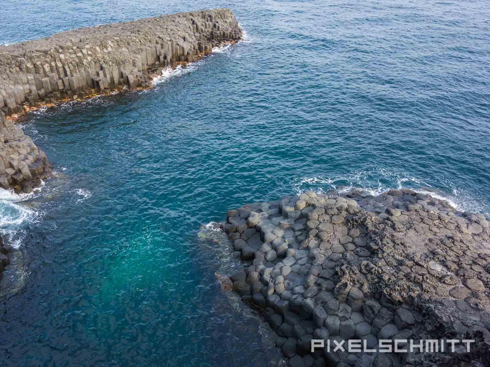Jeju Island Südkorea Pancake Rocks