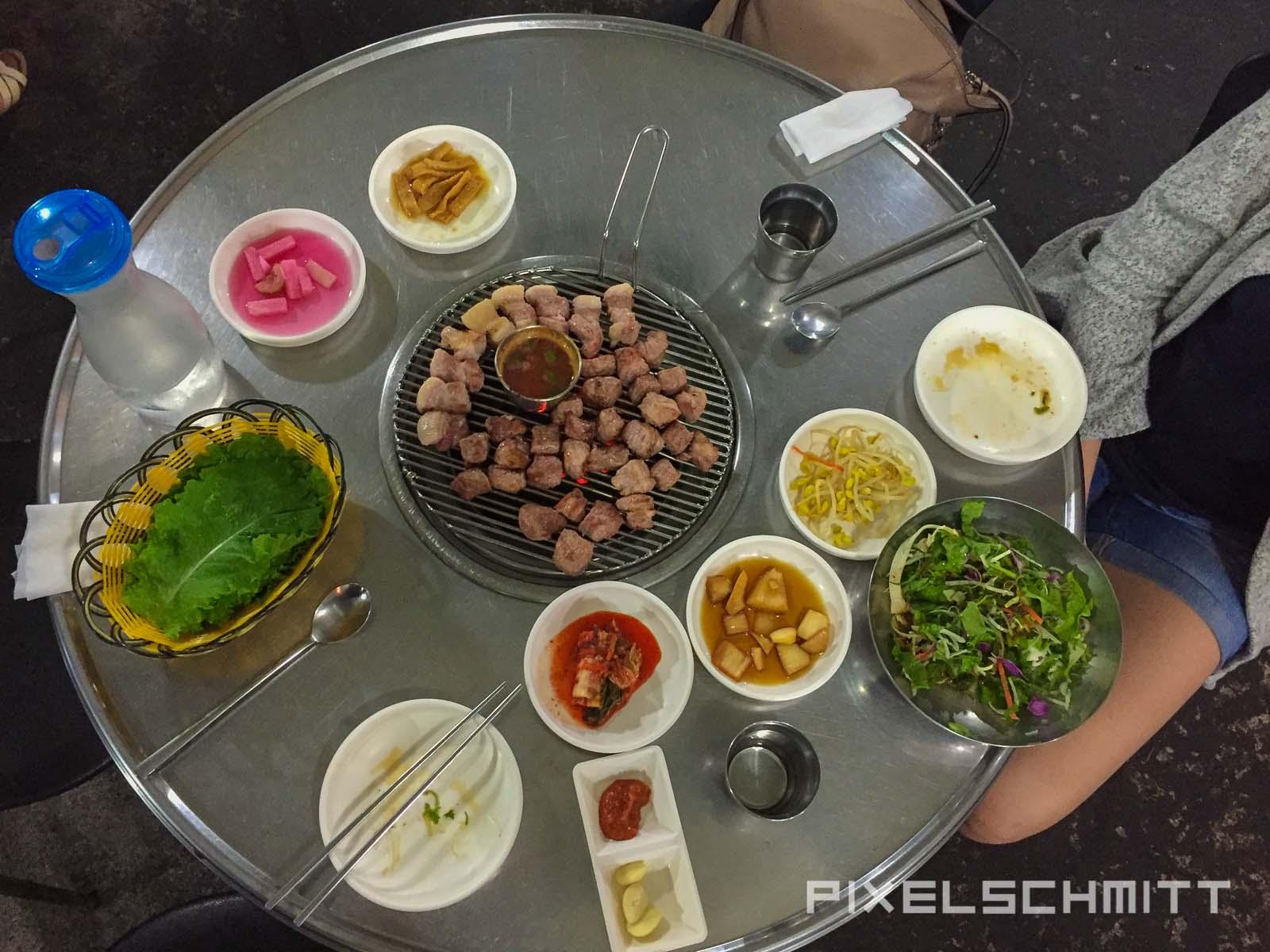Jeju Island Südkorea Korean BBQ