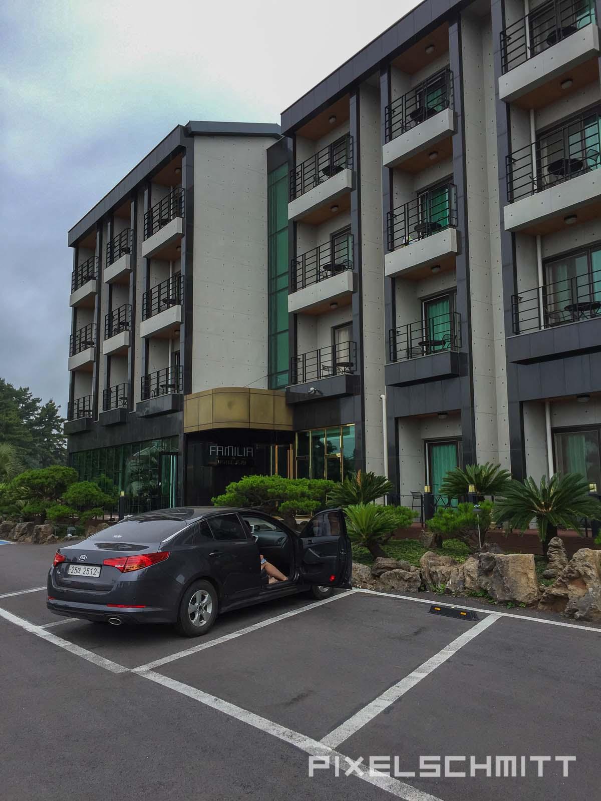 Jeju Island Südkorea Familia Hotel