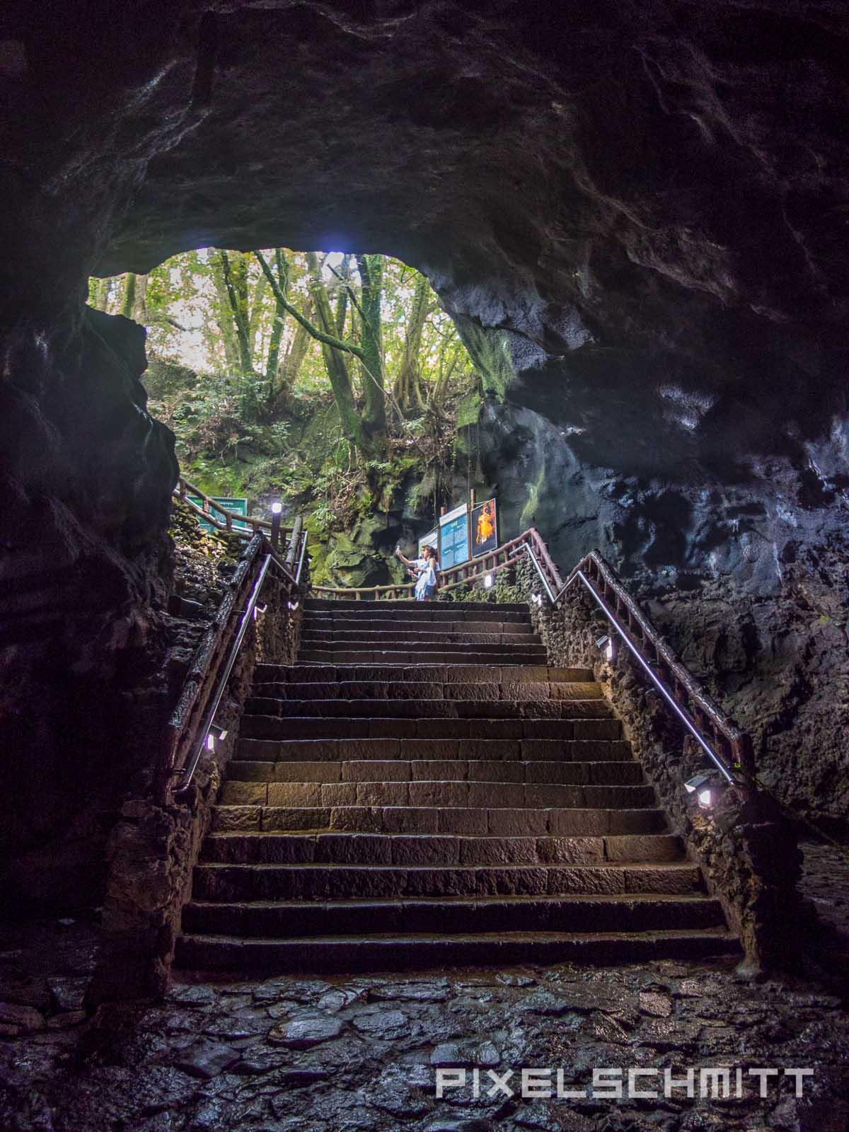Jeju Island Lavahöhlen