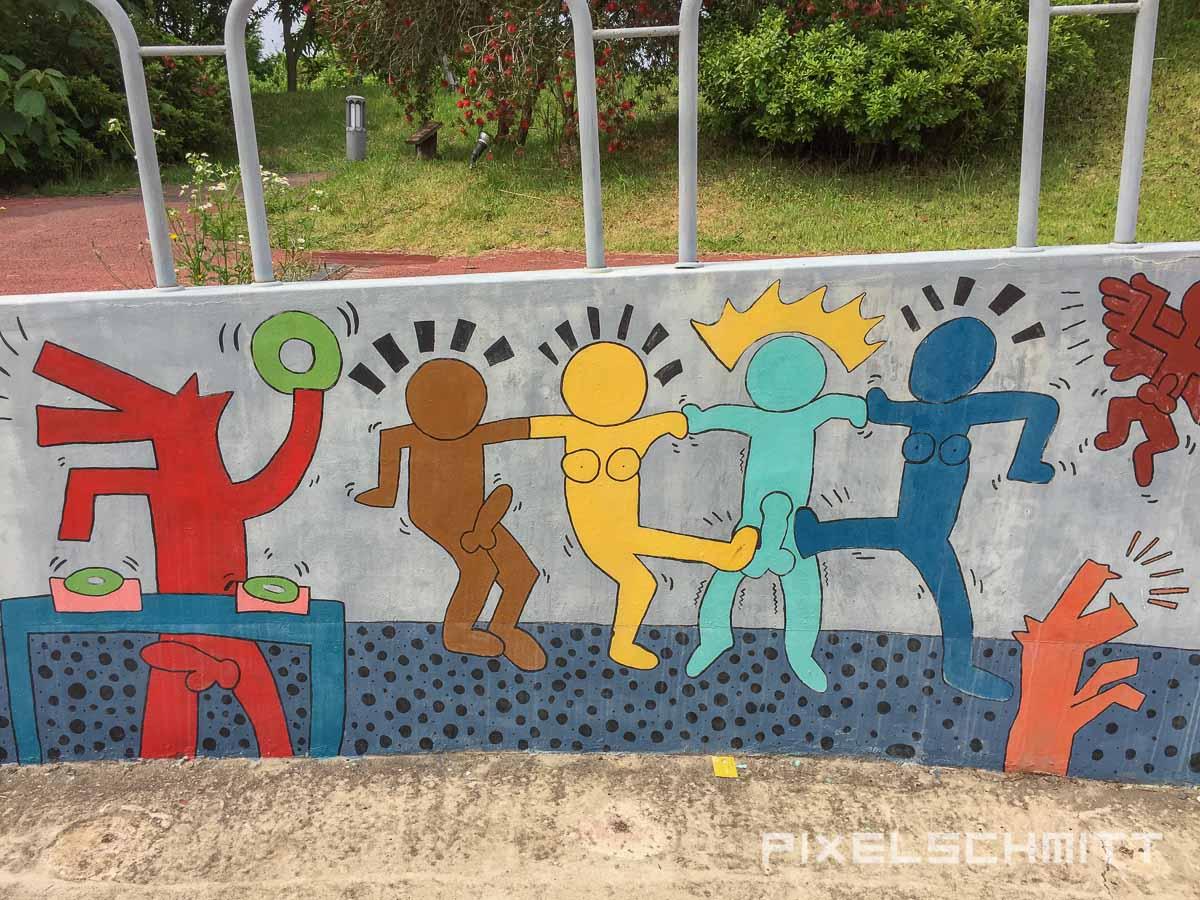 Wenn das Keith Haring wüsste!