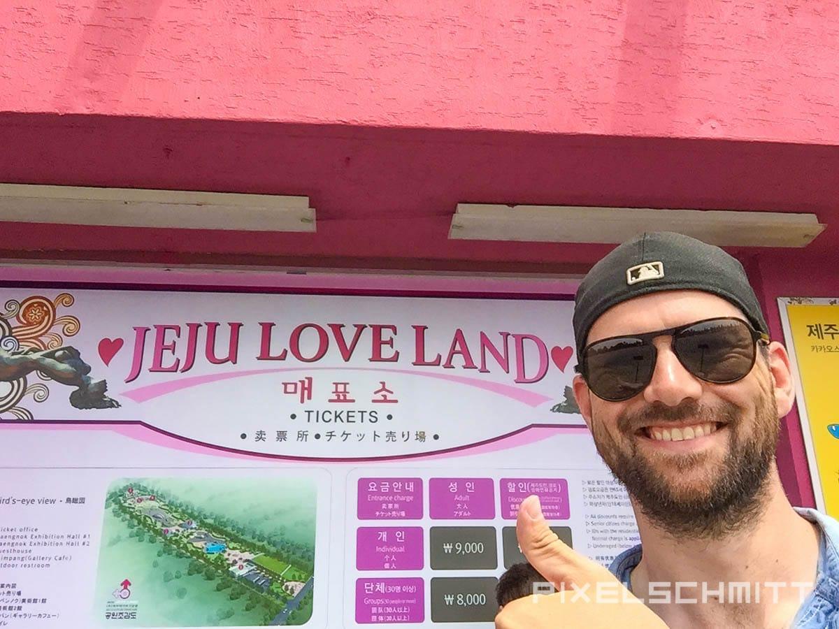 Eingang zum Jeju Love Land