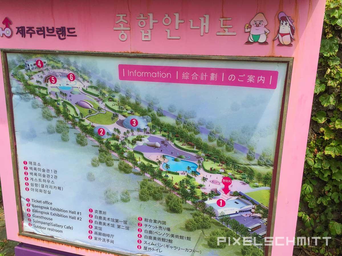 Der Plan zu Jeju Love Land