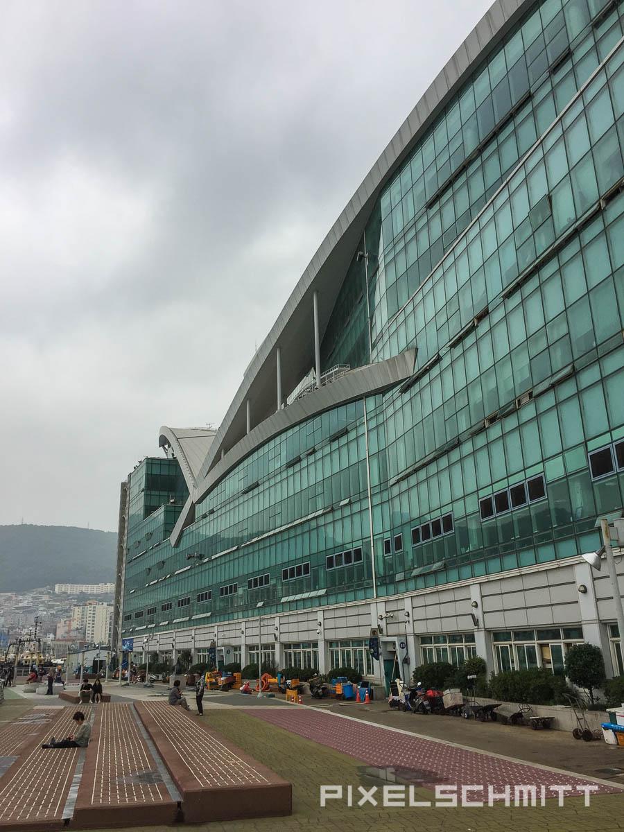 Der Fischmarkt von Busan - ein Industriebau eben