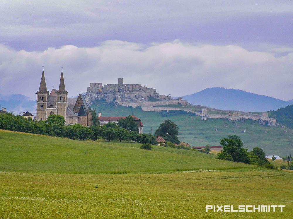 spissky hrad panorama