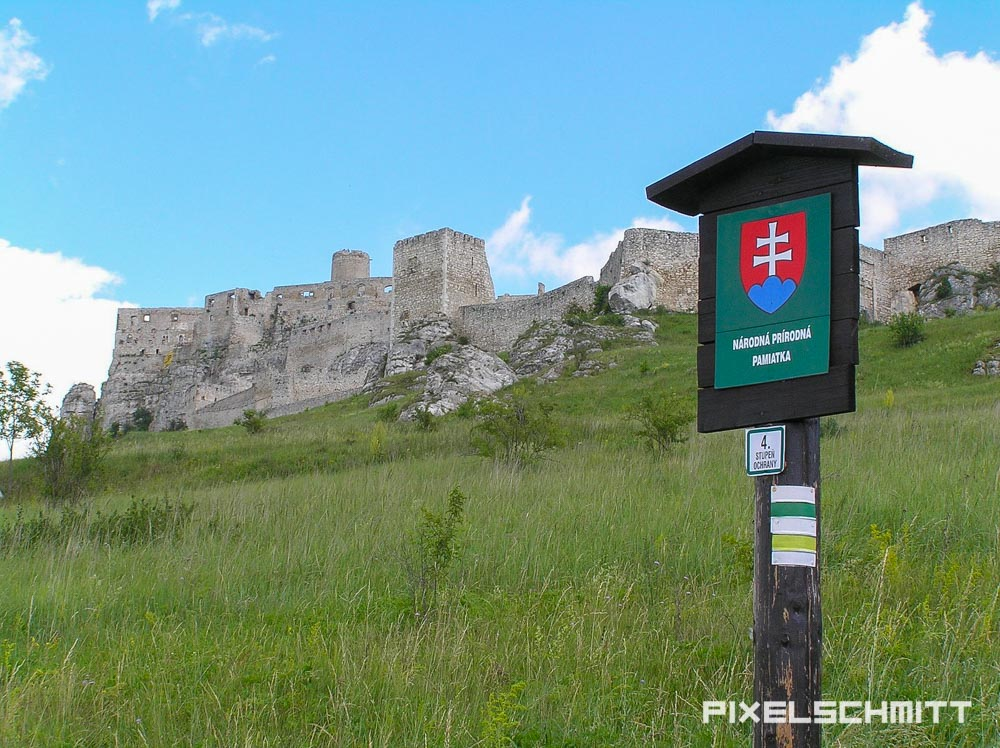 spissky hrad zipser burg slowakei