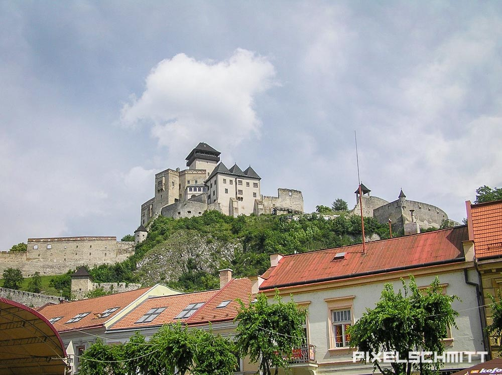 trencin burg slowakei roadtrip