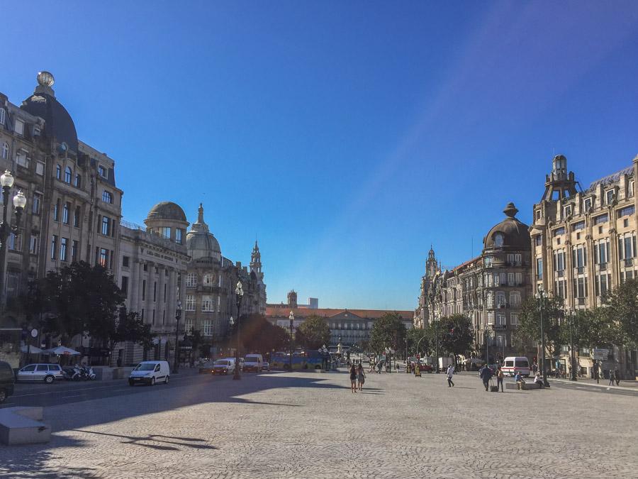 Porto: Avenida dos Aliados