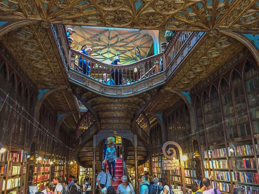 Der Buchladen in Porto