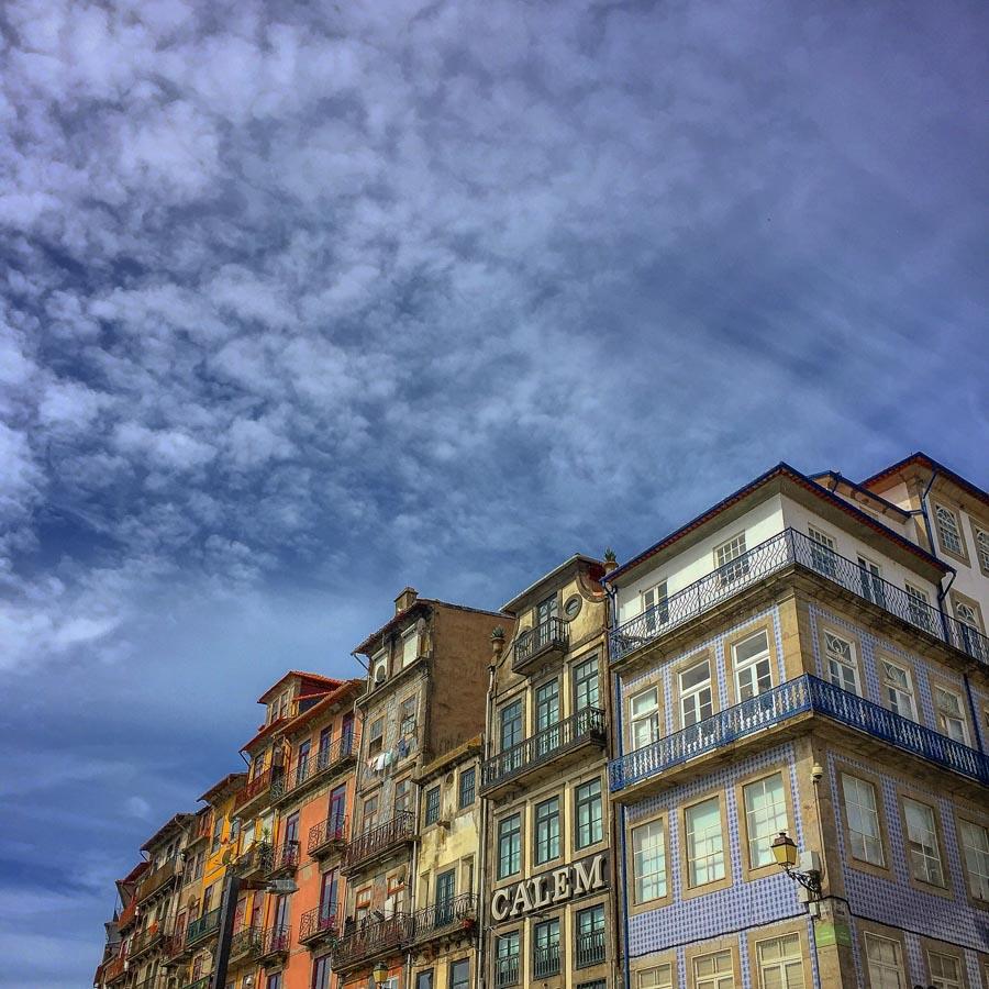 Fassaden in Ribeira