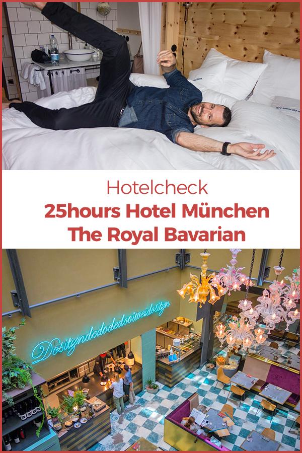 Das 25hours Hotel München. The Royal Bavarian ist eine Hommage an die bayerischen Königshäuser. Wir haben uns im Hotel für Dich umgeschaut.
