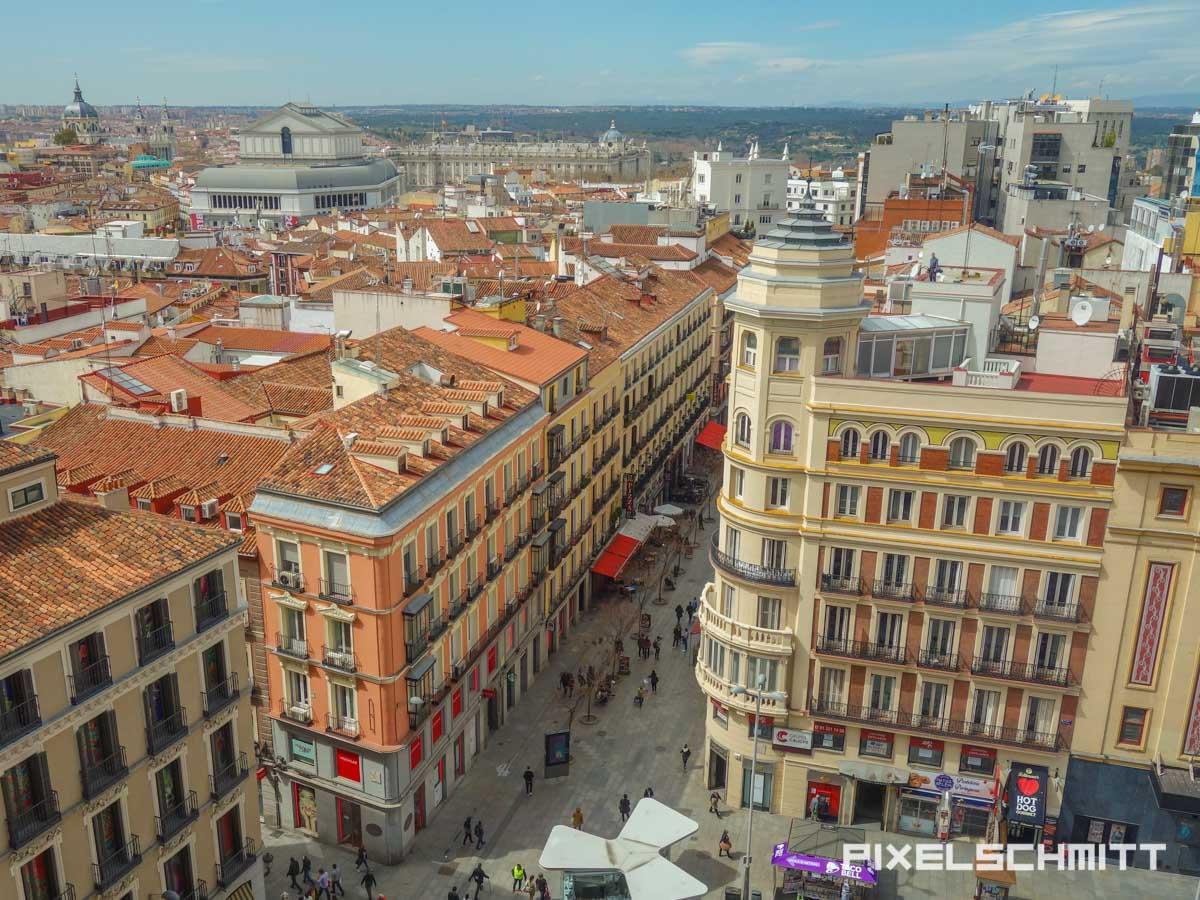 Bester Blick über Madrids Sehenswürdigkeiten - und kostenlos